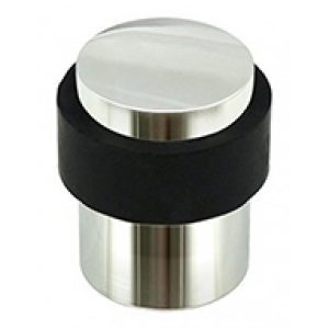 "Modern Door Stopper Floor Mounted 3"" Stainless Steel"