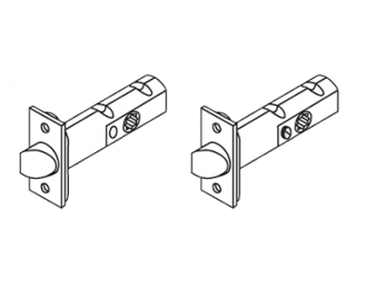 Colombo Tubular Replacement Latches