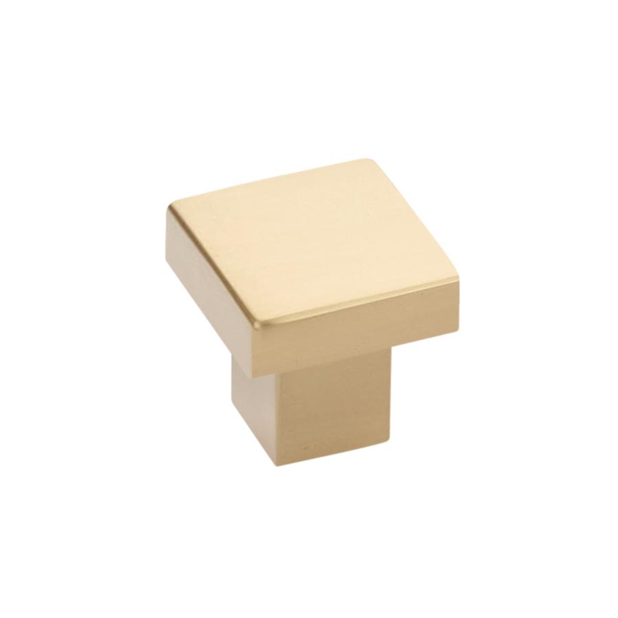 emtek-hunter-cabinet-knob-satin-brass Emtek Modern Cabinet Hardware