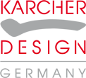 Karcher Design Rhodos XL Lever Stainless Steel Handle