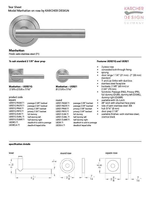manhattan-uer21_71-spec-sheet