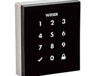 Weiser Obsidian Touchscreen Electronic Lock