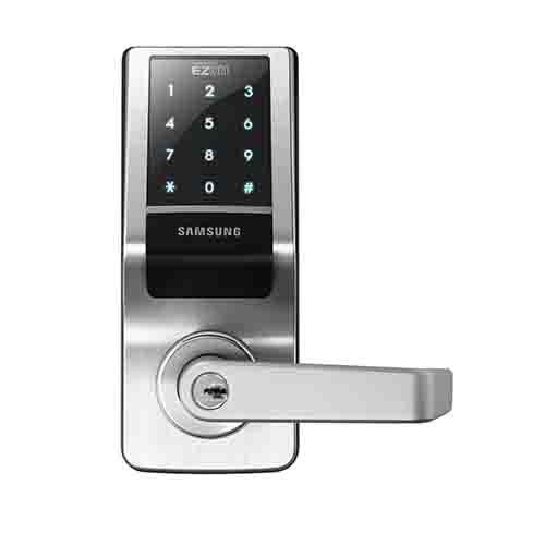 Samsung Card Access Control Electronic Lock Canada Door