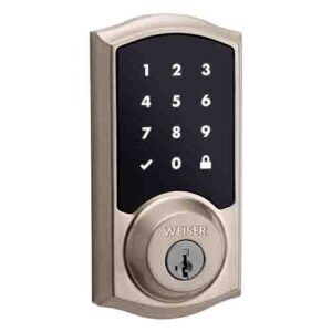Weiser smartcode-touch-electronic-lock-featuring-smartkey