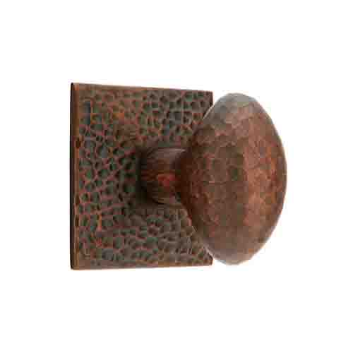 Emtek Hammered Egg Knob Passage Privacy