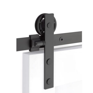 Emtek Modern Rectangular Face Barn Door Hardware
