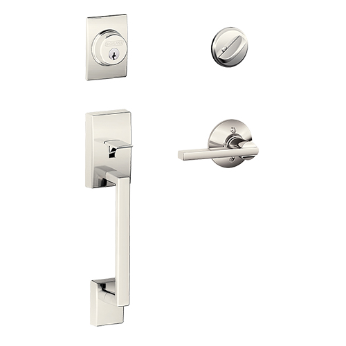 Schlage Century Entry Set Latitude Lever