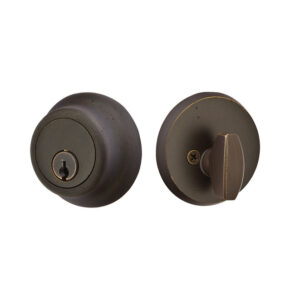Regular Sandcast Bronze Deadbolt | Emtek