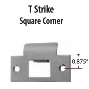 Emtek T Strike Plate