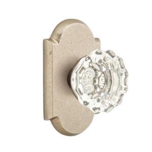 Emtek Astoria Crystal Knob Sandcast Bronze