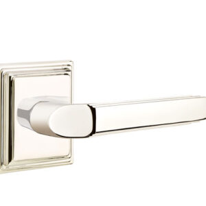 Emtek Milano Lever Classic Brass
