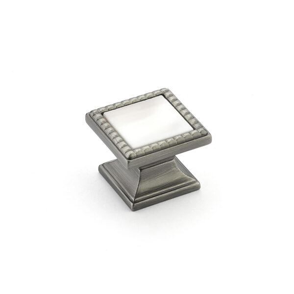 Schaub Kingsway Square Knob Cabinet Hardware