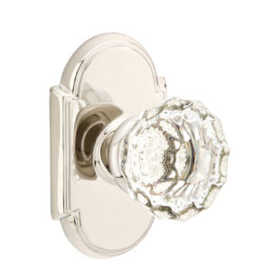 Emtek Astoria Clear Knob Designer Brass