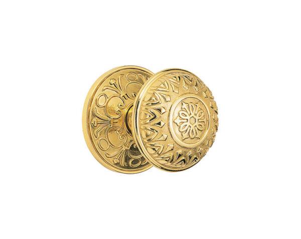 Emtek Lancaster Knob Designer Brass
