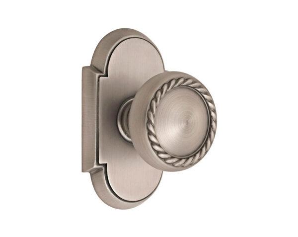 Emtek Rope Knob Designer Brass