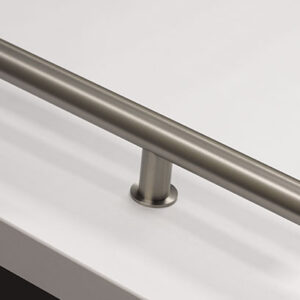 Emtek Round Door Pulls - Stainless Steel