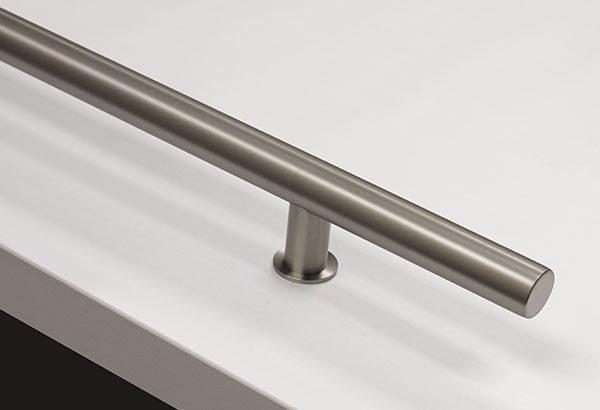 Emtek Round Door Pulls - Stainless Steel