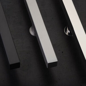 Emtek Square Door Pulls - Stainless Steel