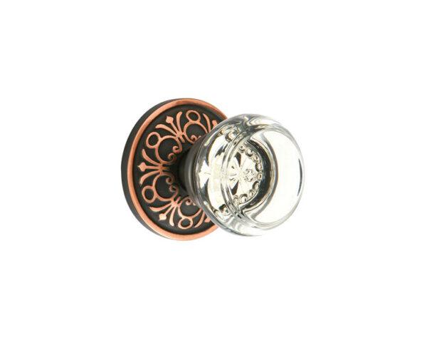 Emtek Georgetown Knob Designer Brass