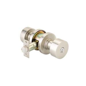 Emtek Round Keyed Knob Modern Brass