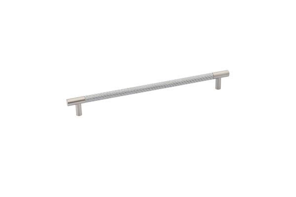 Emtek Bar Pull Carbon Fiber | Black - Silver