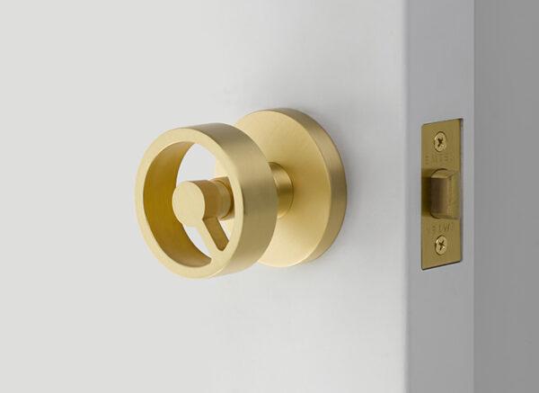 Emtek Spoke Knob Designer Brass