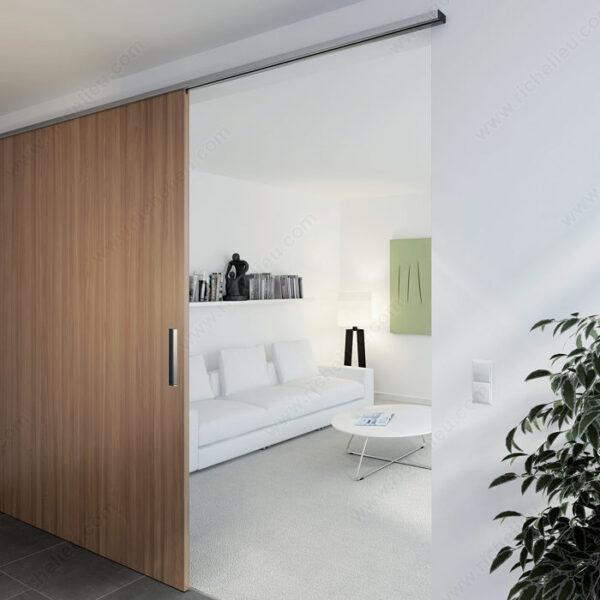 Wood Sliding Door Hardware Set, UP/100 kg