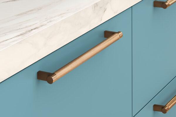 EMTEK SELECT Knurled Cabinet Pull Bar