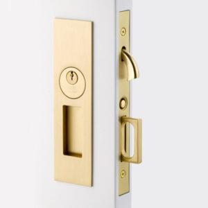 Emtek Narrow Modern Pocket Door Mortise Lock